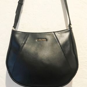 Calvin Klein Bags - Calvin Klein Leather Messenger Bag